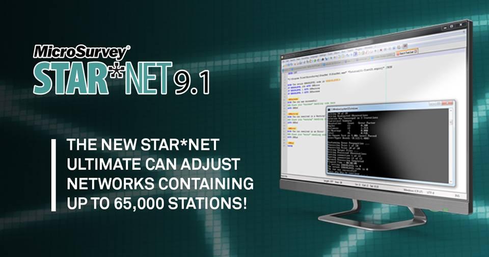 Release of MicroSurvey STAR*NET 9.1