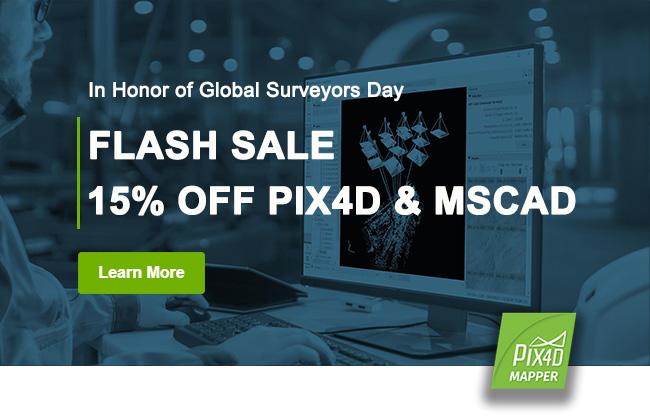 Pix4D Flash Sale