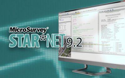 STAR*NET 9.2 Released